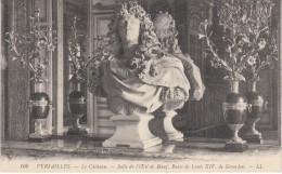 CPA - VERSAILLES - Le Château - Salle De L'Oeil De Boeuf, Buste De Louis XIV - Versailles