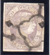 ESPAGNE : N° 7. 1851 . OBL . TB . - 1850-68 Kingdom: Isabella II
