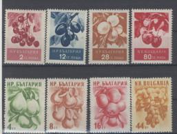 Lot Bulgarien Michel No. 990 - 993 , 1022 - 1025 ** postfrisch