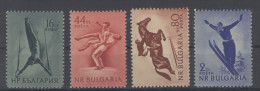 Lot Bulgarien Michel No. 928 - 931 ** postfrisch