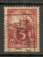 Timbres - Estonie - 1922 - 5 M. - - Estonie