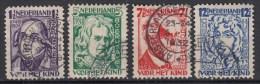 NEDERLAND - Michel - 1928 - Nr 218/21A - Gest/Obl/Us - Gebruikt