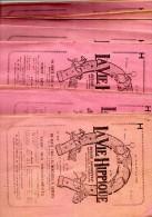 18 NUMEROS DE LA VIE HIPPIQUE REVUE SPORTIVE ARTISTIQUE LITERAIRE ET THEATRALE 1927 - Libros, Revistas, Cómics