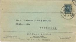 11366. Carta BARCELONA 1927. Correo Interior - Cartas