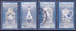 DDR 1989 / MiNr. 3241 – 3244 I   O / Used  (n1303) - Gebraucht