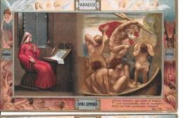 DIVINA COMMEDIA- F/P -visione Della Barca Di Caronte-632 - Cartoline