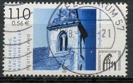 Germany 2001 110pf Canzow Church Issue #2130  SON Cancel - [7] Federal Republic