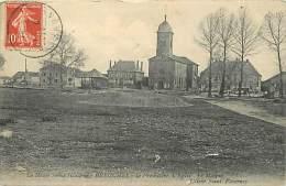 Dept Div -haute Saone -ref Y820- Breuches -le Presbytere , L Eglise , La Mairie  - Carte Bon Etat  - - Francia