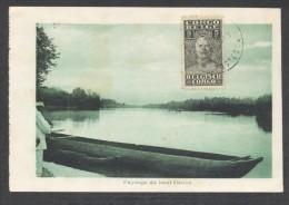 8185-CONGO BELGE-PAYSAGE DU HAUT FLEUVE-1929-FP - Congo - Brazzaville