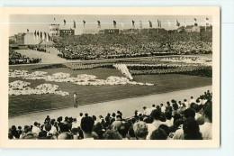 BERLIN -  RDA - Walter Ulbricht Stadion : Massennübung , Exercices De Masse - TBE - 2 Scans - Non Classés