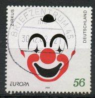 Germany 2002 56cf Europa Issue #2158 SON Cancel - [7] Federal Republic