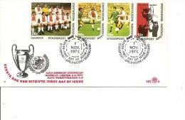 Coupe D'Europe -1971 ( FDC Commémoratif Privé De Apeldoorn Aux Pays-Bas à Voir) - UEFA European Championship
