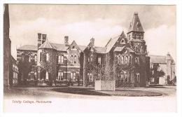 RB 1002 - Early Postcard - Trinity College - Melbourne Victoria - Australia - Melbourne