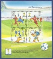 India 2014 / Football Soccer Brasil 2014 MNH Futbol / C8136   1 - Fußball-Weltmeisterschaft