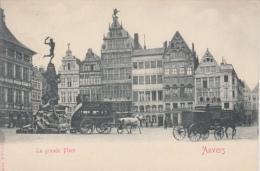 Antwerpen    Anvers     La Grande Place    Koetsen       Nr 81 - Antwerpen