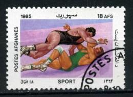 AFGANISTAN - Poste AFGHANES - Year 1985 - Lotta Libera - Wrestling - Usato - Used. - Lotta