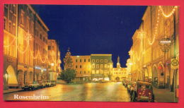 159066 / ROSENHEIM  - NIGHT , CAR , NEW YEAR - Germany Deutschland Allemagne Germania - Rosenheim
