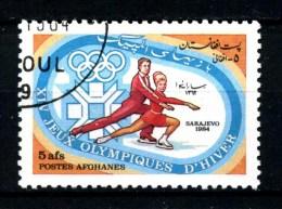 AFGANISTAN - Poste AFGHANES - Year 1984 - Sarajevo 84 - Pair Skating - Usato - Used. - Pattinaggio Artistico