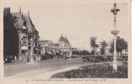 CPA - LA BAULE-SUR-MER - Les Boulevards Vers Le Casino - La Baule-Escoublac