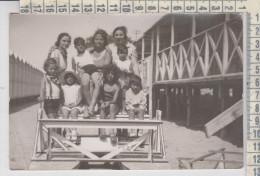 Anzio Fotografia P. Ippolito  Pattino Famiglia Costumi Bambini - Roma