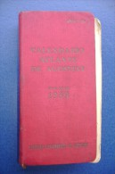 PGC/45 CALENDARIO ATLANTE De Agostini Ed.1939 - Mappe