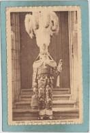 BINCHE  -  LE  CARNAVAL  -  UN  GILLE  EN  GRANDE  TENUE  -  1937  - - Binche