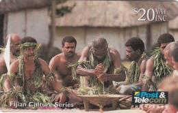 FIJI ISL.(GPT) - Traditional Yaqona Ceremony, CN : 07FJE, Tirage 19400, Used - Fiji