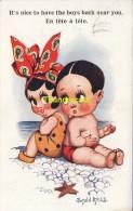 CPA ILLUSTRATEUR DESSIN  ENFANT ** DONALD MC GILL ** ARTIST SIGNED  CARD   CHILDREN - Mc Gill, Donald