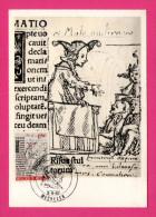 Carte Maximum - ERASME - Eloge De La Folie - Dessin De FRANS HOLBEIN - 1967 - MECHELEN - Maximum Cards