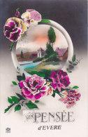 Une Pensée D'Evere (fleurs, Colorisée, Editions Léo) - Evere