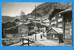 EGG977, Vieux Zermatt, Café Du Pont, 2178, Sartori, Animée , Non Circulée - VS Valais