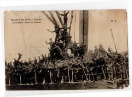 Cpa - Guerre De 1914 - Troupes Anglaises Arrivant En France - Guerre 1914-18