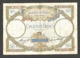 "FRANCE - BANQUE De FRANCE -  50 FRANCS ""LUC OLIVIER MERSON"" (CT. 31 - 5 - 1934) - 1871-1952 Antichi Franchi Circolanti Nel XX Secolo"