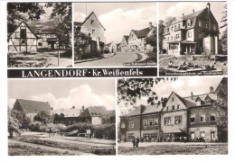 Deutschland - Langendorf Kreis Weissenfels - Politechnische Oberschule - Schulsportplatz - Weissenfels