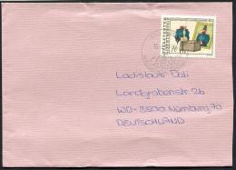 (1217) Bedarfsbrief Aus LIECHTENSTEIN, TRIESEN Vom 10.6.1991, Uniform - Liechtenstein