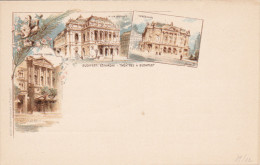 Three Theaters Of BUDAPEST, Hungary, 00-10s - Ungheria