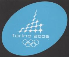 ITALY 2006 - OLYMPIC WINTER GAMES TORINO 2006 - STICKER / AUTOCOLLANTE - Giochi Olimpici