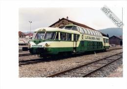 25 - MORTEAU - Doubs - 1997 - AUTORAIL X 4208 - CENEVOL - LIVRADOIS-FOREZ -  TRAIN GARE / Clermont-Ferrand * Nimes - Altri Comuni