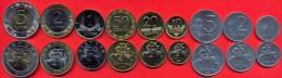 Lithuania Coins Set 1991, 2000, 2009 UNC (9 Coins) 1, 2, 5, 10, 20, 50 Centu 1, 2, 5 Litai - FULL Set - Litouwen