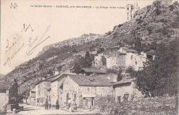 15 AUROUZE Près MOLOMPIZE Le VILLAGE Rue Animée  Maisons Et Les Ruines - Frankreich