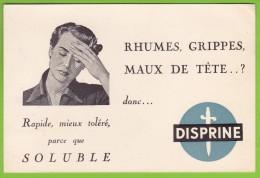 BUVARD - DISPRINE - RHUMES - MAUX De TETE / SOLUBLE - Produits Pharmaceutiques