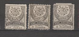 Yvert 25 / 27 * Neuf Charnière Le 25 (*) - 1921-... République