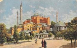 Constantinople - Ste Sophie - Illustration - Turquie