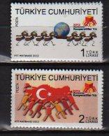 2012  Turkey -International Year Of Cooperatives - 2 V Paper - MNH** - Nuevos