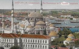 Constantinople - Vue Panoramique De La Mosquée Suleymanié - Turquie
