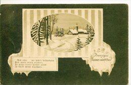 RUSSE-RUSO-RUSSIAN-RUSSO PEINTURE DE PAYSAGE LANDSCAPE PAINTING ESPERANTO LANGUAGE CIRCULEE 1913 RARISSIME GECKO - Esperanto