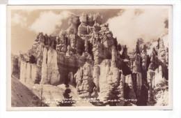 BRYCE CANYON National Park  Queen S Garden Rppc Photo Card Usa UT - Bryce Canyon