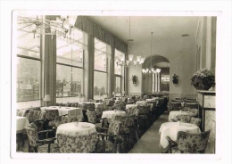 Frankfurt am Main - Caf�, Restaurant Rumpelmayer - Stamp 1955 - Germany ( 2 scans )