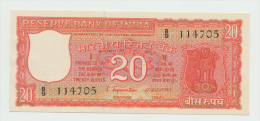 INDIA 20 RUPEES 1970 UNC NEUF (2 Staple Holes) PICK 61A - India