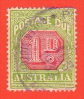 AUS SC #J58a U  1931 1p Postage Due P14, CV $11.50 - Postage Due